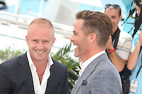 BEN FOSTER AND CHRIS PINE - PHOTOCALL OF THE FILM 'HELL OR HIGH WATER' AT THE 69TH FESTIVAL OF CANNES 2016