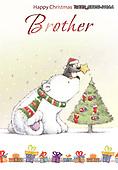 John, CHRISTMAS ANIMALS, WEIHNACHTEN TIERE, NAVIDAD ANIMALES, paintings+++++,GBHSSXC50-316AA,#xa#