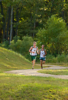 Woodlawn Varsity Cross Country runners compete at  McAlpine Park in Charlotte, North Carolina.<br /> <br /> Charlotte Photographer - PatrickSchneiderPhoto.com