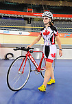 LONDON, ENGLAND – 08/24/2012:  Marie-Claude Molnar during a training session at the London 2012 Paralympic Games at The Velodrome. (Photo by Matthew Murnaghan/Canadian Paralympic Committee)