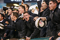 Philadelphia, PA - December 14, 2019:    Navy Midshipmen fan during the 120th game between Army vs Navy at Lincoln Financial Field in Philadelphia, PA. (Photo by Elliott Brown/Media Images International)