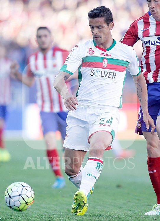 Granada Club de Futbol's Ricardo Costa during La Liga match. April 17,2016. (ALTERPHOTOS/Acero)