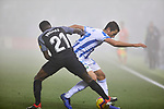 CD Leganes' Mikel Vesga and Sevilla FC's Quincy Promes during La Liga match between CD Leganes and Sevilla FC at Butarque Stadium in Leganes, Spain. December 23, 2018. (ALTERPHOTOS/A. Perez Meca)