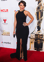 PASADENA, CA, USA - OCTOBER 10: Selenis Leyva arrives at the 2014 NCLR ALMA Awards held at the Pasadena Civic Auditorium on October 10, 2014 in Pasadena, California, United States. (Photo by Celebrity Monitor)