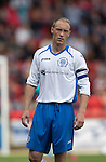 St Johnstone v Hearts...03.08.14  Steven Anderson Testimonial<br /> Steven Anderson<br /> Picture by Graeme Hart.<br /> Copyright Perthshire Picture Agency<br /> Tel: 01738 623350  Mobile: 07990 594431