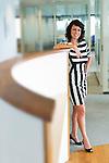 2014. Utrecht, Portrait of Human resource manager in her workspace in Utrecht.<br /> photo by Michael Kooren.