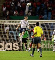 Danny Califf, 2010 FIFA World Cup qualifying.U.S. Men vs. Trinidad & Tobago.Hasely Crawford Stadium.Port of Spain, Trinidad.October 14, 2008.Trinidad and Tobago 2, USA 1