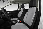Front seat view of a 2017 Ford C-Max PHEV SE 5 Door Mini Van front seat car photos