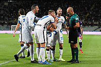 21nd September 2021; Artemio Franchi Stadium, Florence, Italy; Serie A championship football, AC Fiorentina versus Inter MIlan; Inter question a referee decision