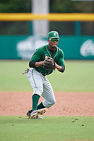 Dartmouth Big Green Blake Crossing (13) during practice before a game against the USF Bulls on March 17, 2019 at USF Baseball Stadium in Tampa, Florida.  USF defeated Dartmouth 4-1.  (Mike Janes/Four Seam Images)
