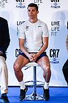 Cristiano Ronaldo of Real Madrid attends the new  Crunch Fitness Gym in Madrid, Spain. March 13, 2017. (ALTERPHOTOS / Rodrigo Jimenez)
