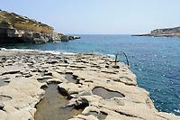 Il Quala Bay auf der Delimara-Halbinsel , Malta, Europa