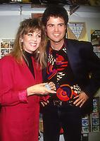 #DonnyOsmond and wife #DebbieOsmond 1990<br /> Photo By Adam Scull/PHOTOlink.net