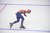 OLYMPIC GAMES: PYEONGCHANG: 19-02-2018, Gangneung Oval, Long Track, 500m Men, Jan Smeekens (NED), ©photo Martin de Jong