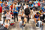 Concept2 Crash-B World Indoor Rowing Championships, 2012, Mathew Segal, (center), St.George's High School, Winner, Lightweight Junior Men, Lightweight Junior Men, athletes compete annually on a Concept2 Indoor Rower for time over 2000 meters, Agganis Arena, Boston University, Boston, Massachusetts,