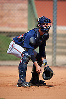 Atlanta Braves Collin Yelich (82) during practice before an instructional league game against the Houston Astros on October 1, 2015 at the Osceola County Complex in Kissimmee, Florida.  (Mike Janes/Four Seam Images)