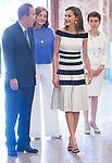 South Korean diplomatic Ban Ki-moon and Queen Letizia attends to UNICEF Awards 2017 in Madrid, June 13, 2017. Spain.<br /> (ALTERPHOTOS/BorjaB.Hojas)