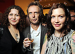 From left: Tonya Solis, Willy Goldschmidt and Sarah Jones at the kick-off party for the Latin Wave: New Films From Latin America festival a the Museum of Fine Arts Houston Thursday April 29,2010.. (Dave Rossman Photo)