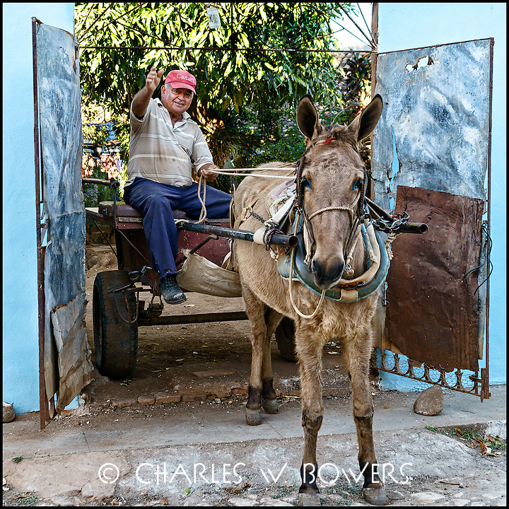 Faces Of Cuba - Taking the buggy for a spin.<br />