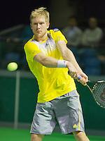 10-02-13, Tennis, Rotterdam, qualification ABNAMROWTT,    Matthias Bachinger