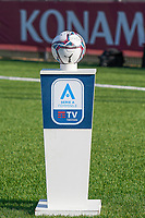 4th September 2021; Agostino Di Bartolomei Stadium, Rome, Italy; Serie A Woman championship football, AS Roma versus Napoli ; the new official league ball