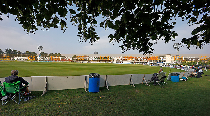 General view of the St Lawrence Ground during Kent CCC vs Worcestershire CCC, LV Insurance County Championship Division 3 Cricket at The Spitfire Ground on 5th September 2021