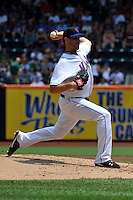 New York Mets pitcher Jonathan Niese #49 during a game against the St. Louis Cardinals at Citi Field on July 21, 2011 in Queens, NY.  Cardinals defeated Mets 6-2.  Tomasso DeRosa/Four Seam Images
