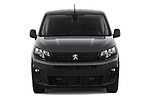 Car photography straight front view of a 2019 Peugeot Partner Pemium 4 Door Car Van Front View