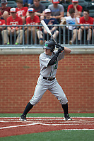 Andrew Zban (41) of the Marshall Thundering Herd at bat against the Charlotte 49ers at Hayes Stadium on April 23, 2016 in Charlotte, North Carolina. The Thundering Herd defeated the 49ers 10-5.  (Brian Westerholt/Four Seam Images)
