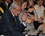 VITTORIO FELTRI E DIANA BRACCO<br /> PREMIO GUIDO CARLI - TERZA  EDIZIONE<br /> PALAZZO DI MONTECITORIO - SALA DELLA LUPA<br /> CON RICEVIMENTO  HOTEL MAJESTIC   ROMA 2012