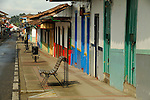 Street scenes in Salento, Colombia..