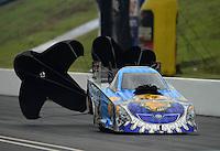 Jun. 17, 2012; Bristol, TN, USA: NHRA funny car driver Jim Head during the Thunder Valley Nationals at Bristol Dragway. Mandatory Credit: Mark J. Rebilas-