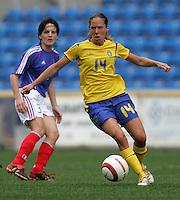 MAR 15, 2006: Faro, Portugal:  Linda Fagerstrom