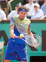 25-5-08, France,Paris, Tennis, Roland Garros, Gustavo Kuerten