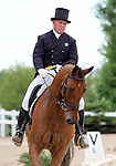 10 July 2009: Bruce (Buck) Davidson riding Ballynoecastle RM during the dressage phase of the CIC 3* Maui Jim Horse Trials at Lamplight Equestrian Center in Wayne, Illinois.
