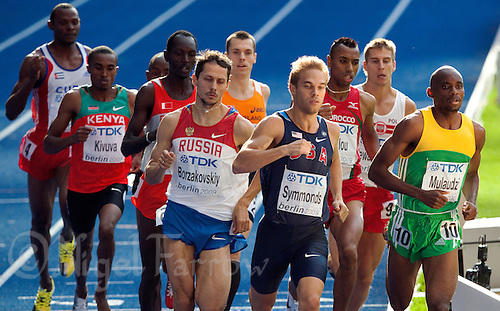 23 AUG 2009 - BERLIN, GER - Mens 800m Final - World Athletics Championships (PHOTO (C) NIGEL FARROW)