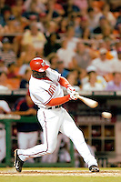 3 September 2005: Preston Wilson, outfielder for the Washington Nationals, at bat during a game against the Philadelphia Phillies. The Nationals defeated the Phillies 5-4 at RFK Stadium in Washington, DC. <br />