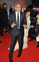 """George Clooney at the 65th BFI London Film Festival """"The Tender Bar"""" American Express gala, Royal Festival Hall, Belvedere Road, on Sunday 10th October 2021, in London, England, UK. <br /> CAP/CAN<br /> ©CAN/Capital Pictures"""