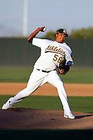 Deivi Jimenez -  AZL Athletics - 2009 Arizona League.Photo by:  Bill Mitchell/Four Seam Images