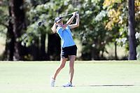 CHAPEL HILL, NC - OCTOBER 11: Kayla Smith of the University of North Carolina at UNC Finley Golf Course on October 11, 2019 in Chapel Hill, North Carolina.