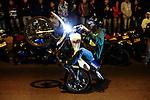 COL - Drivers perform motorcycle pikes in Las Palmas, Medellin