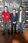 "Jorge Javier Vazquez during the presentation of his new theater play ""Iba en serio"" in Madrid, November 19, 2015<br /> (ALTERPHOTOS/BorjaB.Hojas)"