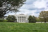 White House South Lawn by Art Harman