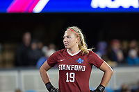 Stanford, CA - December 8, 2019: Katie Meyer at Avaya Stadium. The Stanford Cardinal won their 3rd National Championship, defeating the UNC Tar Heels 5-4 in PKs after the teams drew at 0-0.