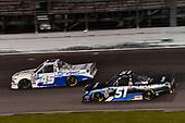 #45: Ross Chastain, Niece Motorsports, Chevrolet Silverado TruNorth/Paul Jr. Designs, #51: Christian Eckes, Kyle Busch Motorsports, Toyota Tundra SiriusXM