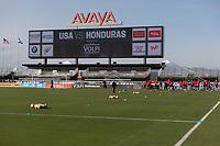 San Jose, CA - March 23, 2017: The USMNT train in preparation for their 2018 FIFA World Cup Qualifying Hexagonal match against Honduras at Avaya Stadium.