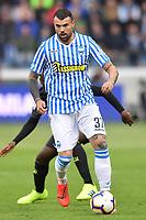 Andrea Petagna of SPAL <br /> Ferrara 13-4-2019 Stadio Paolo Mazza Football Serie A 2018/2019 SPAL - Juventus <br /> Foto Andrea Staccioli / Insidefoto