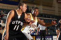 SAN ANTONIO, TX - JANUARY 6, 2007: The University of Texas of the Permian Basin Falcons vs. the St. Mary's University Rattlers Men's Basketball at Bill Greehey Arena. (Photo by Jeff Huehn)