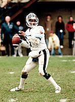 Condredge Holloway Toronto Argonauts Quarterback 1983. Copyright photograph Scott Grant