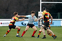 Markus Burcham of Blackheath Rugby during the English National League match between Richmond and Blackheath  at Richmond Athletic Ground, Richmond, United Kingdom on 4 January 2020. Photo by Carlton Myrie.
